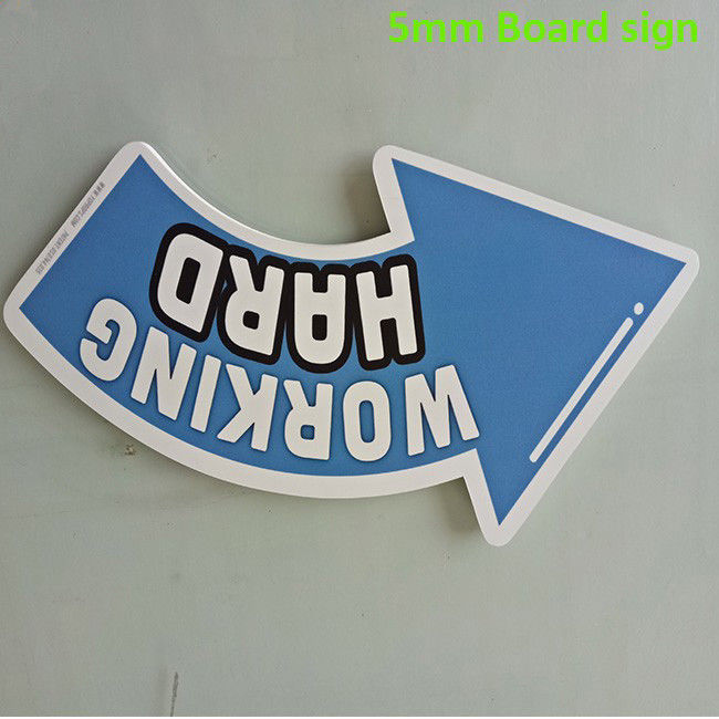 Colorful 5mm PVC Sign Board Sound - Insulated UV Resistance Digital Printing