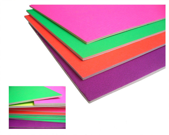 Waterproof 5mm High Density Foam Board , Colored Interior Ceiling Foam Board