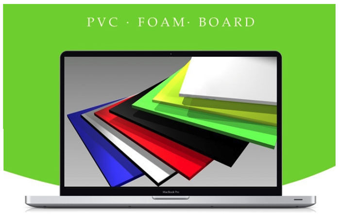 Cabinet Rigid Colored Expanded PVC Foam Board High Density Fire Retardant