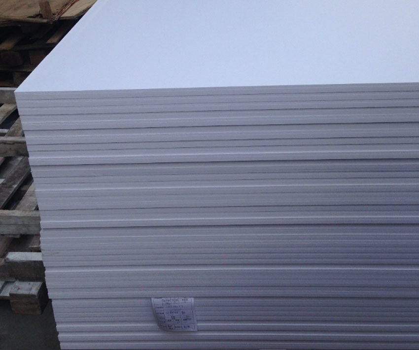 Anti Aging UV Resistant PVC Sheet , Construction Wall Cladding PVC Sheet